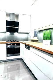 meuble de cuisine blanc meuble blanc de cuisine plan de travail cuisine moderne en