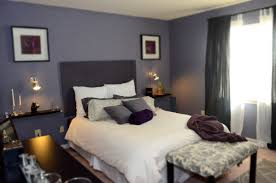 dark purple feature wall bedroom memsaheb net