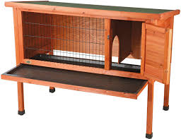 Cheap Rabbit Hutch Trixie Natura 1 Story Rabbit Hutch Medium Chewy Com