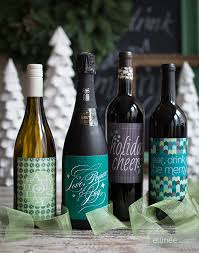 wine bottle christmas ideas 65 amazing christmas gifts labels free bottle and pdf