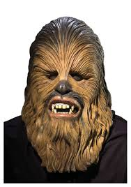 deluxe chewbacca latex mask star wars masks