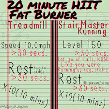 Rotating Stair Machine by 20 Minute Hiit Fat Burner Treadmill Stairmaster Ig