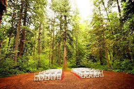 oregon outdoor wedding venues c colton outdoor ceremony chagne wedding event