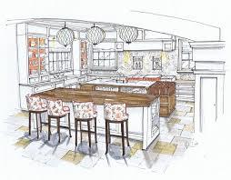 Kitchen Design Sketch 630 Best Interior Design Sketches Images On Pinterest Interior