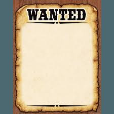 wanted poster format flow chart template word