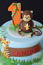 jungle theme cake jungle themed 1st birthday cake baby birthday ideas
