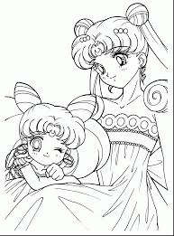 wonderful sailor moon coloring pages with anime coloring pages
