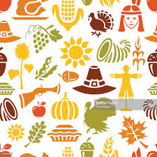 thanksgiving vector art thanksgiving pattern vector art getty images
