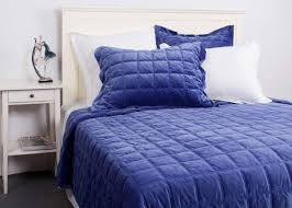 Quilted Coverlets And Shams Velvet Quilted Coverlet And Shams 3 Pcs Twin Queen King Size