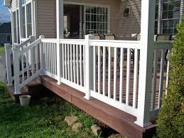 Patio Rails Ideas Installing Vinyl Porch Railing And Posts Porch Design Ideas U0026 Decors