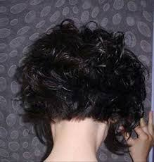 curly and short haircut showing back curly short hair back more hairstyles pinterest curly short