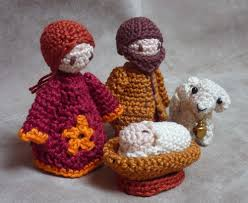 the holy family crochet pattern