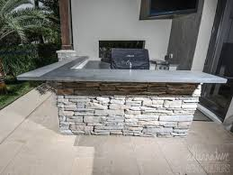 outdoor kitchen countertops ideas kitchen grey concrete counter tops