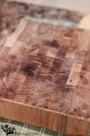 how to clean u0026 restore an old cutting board the wood grain cottage