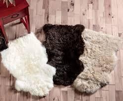 Cheap Sheepskin Rugs Small Fur Rug Roselawnlutheran