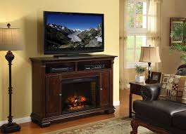 furniture dark brown fireplace tv stand and media shelf plus