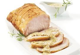 comment cuisiner roti de porc fiche recette rôti de longe de porc aux deux moutardes saq com