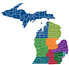 Michigan Area Code Map Resources U2013 Ptacs Of Michigan