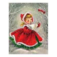 1950s christmas cards invitations greeting u0026 photo cards zazzle