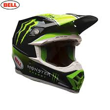 monster motocross jersey bell mx moto 9 helmet tomac monster replica dbm racing