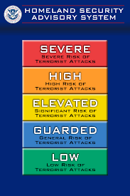 Best Color Codes Homeland Security Advisory System Wikipedia