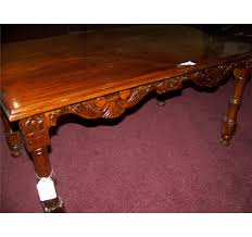 traditional coffee table middle east antique hand carved wood