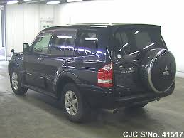 2005 mitsubishi pajero black for sale stock no 41517 japanese