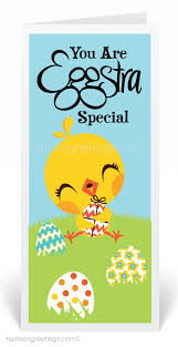eggstra special customer easter card 80241 harrison greetings
