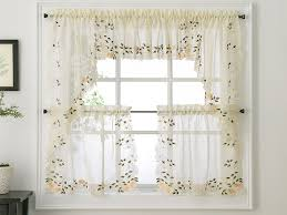 Kitchen Sheer Curtains by Kitchen Curtains Sheer Curtains With Hummingbird Design