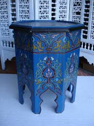 moroccan tea table stand moroccan tea table blue diy pinterest tables tea tables and blue