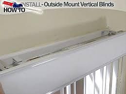 Installing Vertical Blinds Inside Mount Window Blinds Installation 2017 Grasscloth Wallpaper