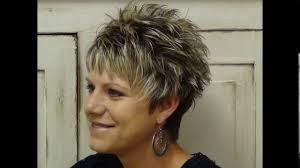 spiky haircuts for seniors short spiky haircuts for older women youtube