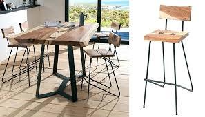 table de cuisine hauteur 90 cm chaise table haute table haute kupu cocktail scandinave eur449