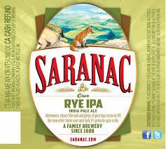 Saranac Rye IPA | BeerPulse