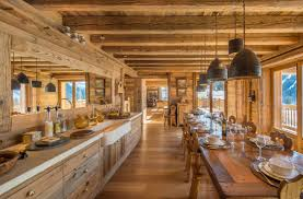 Lodge Kitchen by Rustic Interior Design Styles Log Cabin Lodge Southwestern