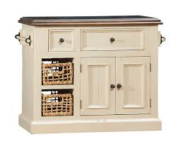 Kitchen Collection Llc by Hillsdale Tuscan Retreat Small Granite Top Kitchen Island With 2