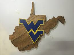 Wvu Home Decor West Virginia Mountaineers Wvu Rustic Wooden Sign