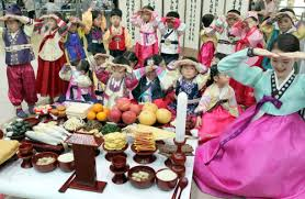 korean thanksgiving day chuseok ceremony singapura