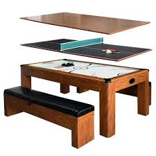 Air Hockey Coffee Table Hathaway Sherwood 7 Ft Air Hockey Table With Benches Bg2422h