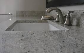 creative white bathroom countertop material room design ideas