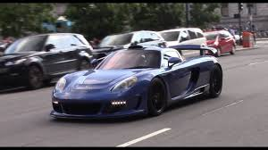 gemballa mirage gemballa mirage gt in boston loud accelerations on the street