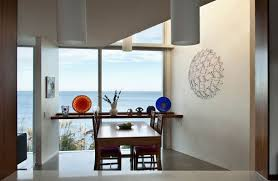 cliff top home with spectacular views in wellington new zealand dining table cliff top home with spectacular views in wellington new zealand