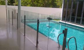 fence pool fence glass infatuate pool fence glass panel sizes