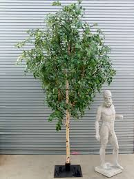 artificial birch trees with lights palmbrokers catalogue artificial trees plants for hire