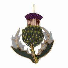 scottish tree decorations tartan tree ornaments