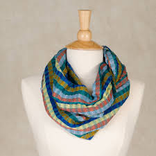 Earth Tone Pictures by Teal Earth Tone Striped Windopane Scarves Fair Trade Mayamam Weavers