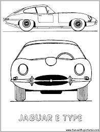 jaguar car coloring page gallery for jaguar car coloring page