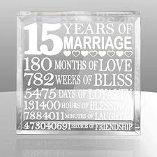 15 year anniversary gift for husband 15th wedding anniversary gifts for him wedding gifts wedding