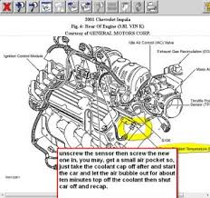 2001 chevy impala coolant sensor engine cooling problem 2001