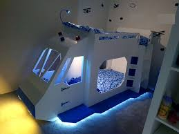 this dad goes above and beyond with a space ship bunk bed build